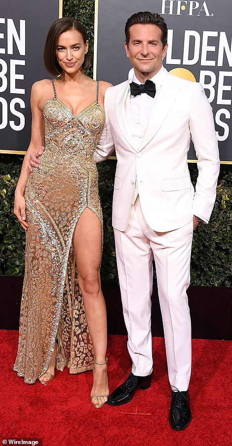 His past: Also there was Bradley's daughter, Lea De Seine Shayk Cooper, whom he had with his supermodel ex Irina Shayk. Seen in January 2019