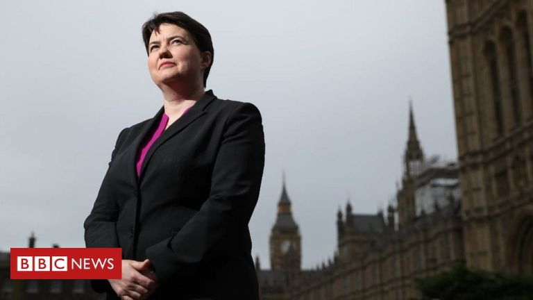 Ruth Davidson to join House of Lords when Holyrood term ends