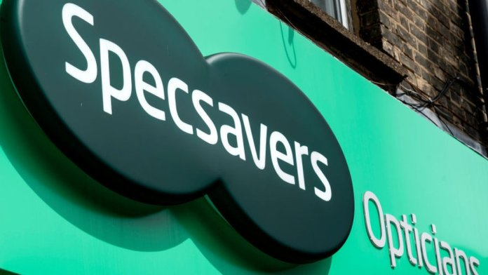 Specsavers shop (file picture)