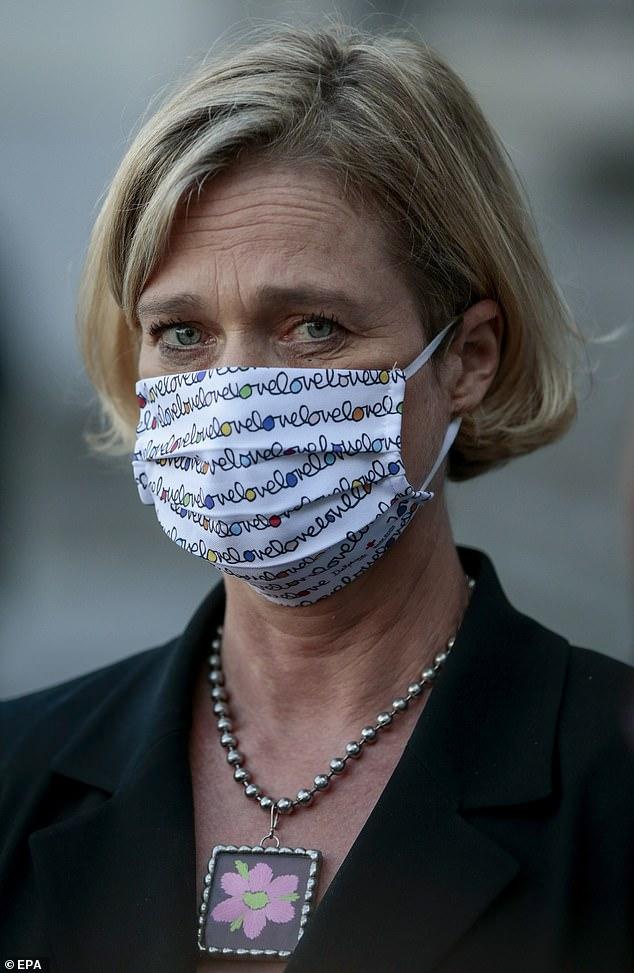 Delphine Boël, 52, who is the love child of the former Belgian king, Albert II
