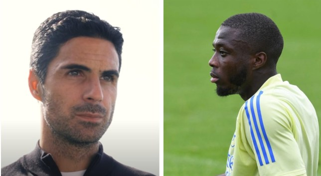Mikel Arteta has challenge Arsenal record signing Nicolas Pepe to improve