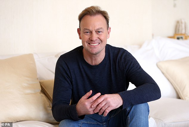 Competition time: Jason Donovan is ready for his next dose of reality TV as he is reportedly one of the stars competing on the upcoming series of Dancing On Ice (pictured 2018)