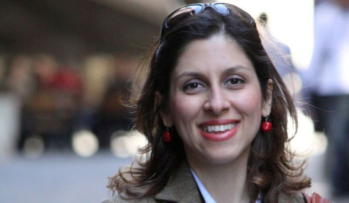 © Reuters. FILE PHOTO: Iranian-British aid worker Nazanin Zaghari-Ratcliffe is seen in an undated photograph handed out by her family