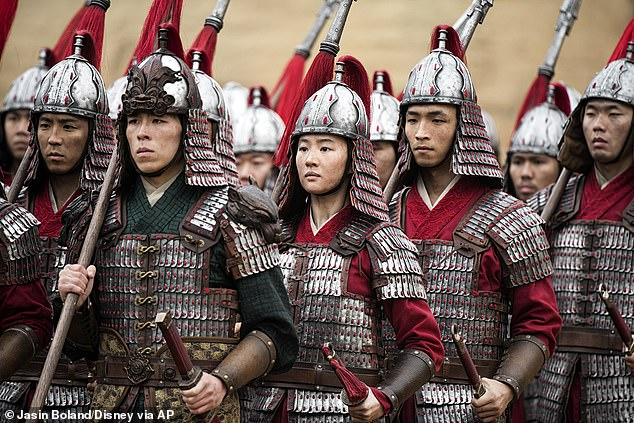 Tacky: The $200M-budget feminist flick grossed $37.6M globally, but it's been mired in controversy over scenes shot in Xinjiang where mostly Muslim ethnic Uighurs have been forced to live in labor camps