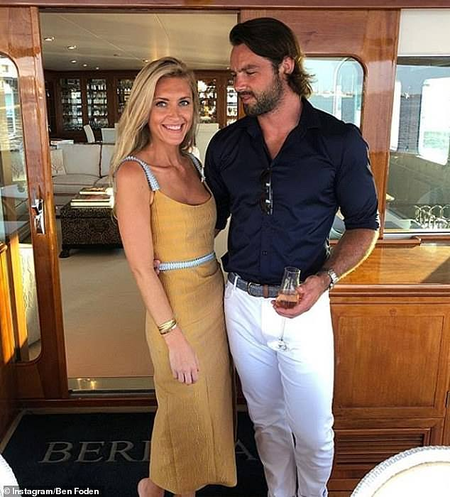 Moving on: Una admitted she found her ex-husband Ben Foden's marriage to Jackie Belanoff Smith (pictured last August) a 'big shock'