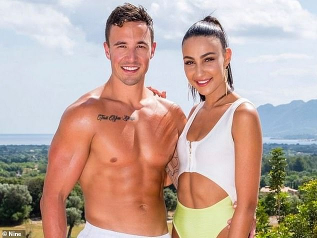 Remember her? Tayla won the first season of Love Island Australia with then-boyfriend Grant Crapp (left). They split two weeks after the season finale in 2018