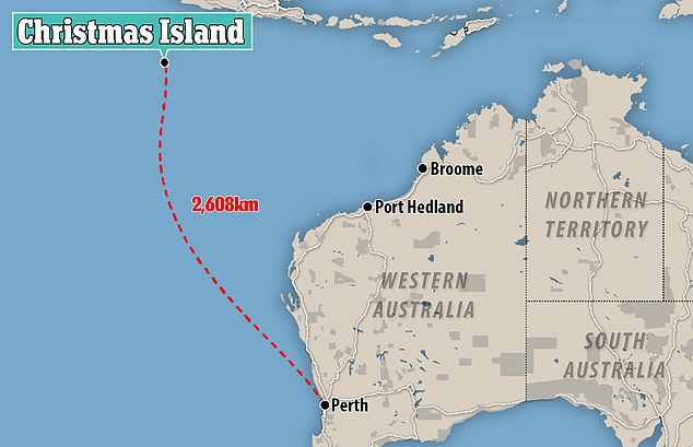 Christmas Island had its ownership transferred from Singapore to Australia in October 1958