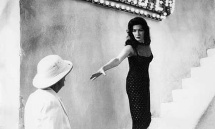 Juliette Gréco in the 1958 film The Roots of Heaven, produced by Darryl F Zanuck, with whom she had a long relationship.
