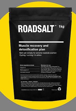 BATH SALTS FOR POST WORKOUT:Roadsalt, £24, roadsaltbath.co.uk