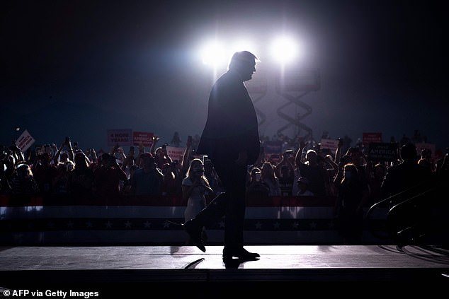 Trump held an indoor campaign rally in Reno, Nevada, flouting the governor's order against gatherings of more than 50 people