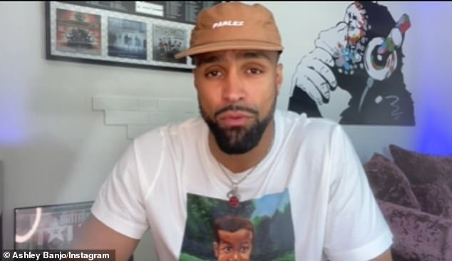 Candid:Ashley Banjo revealed on Sunday he and Diversity have been the target of 'racial abuse and threats' following the group's controversial BLM routine on Britain's Got Talent