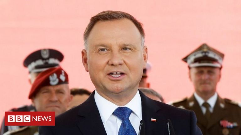 Covid-19: Poland President Duda tests positive for virus