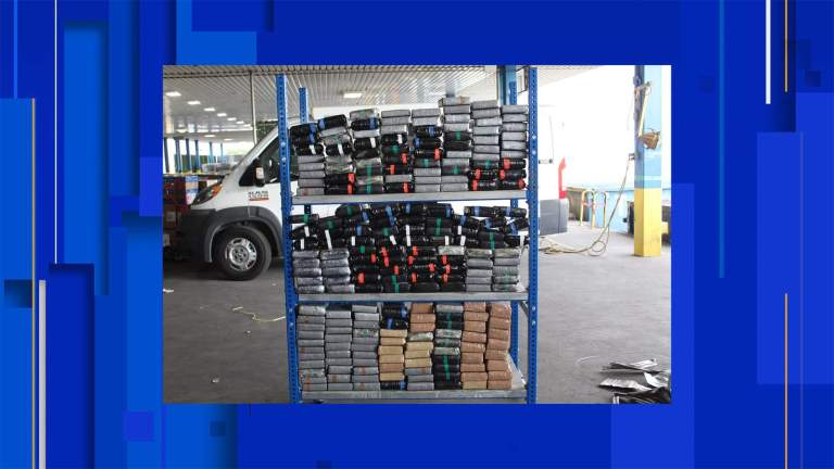 Customs and Border Protection officers seize more than $6.9 million in Laredo cocaine busts