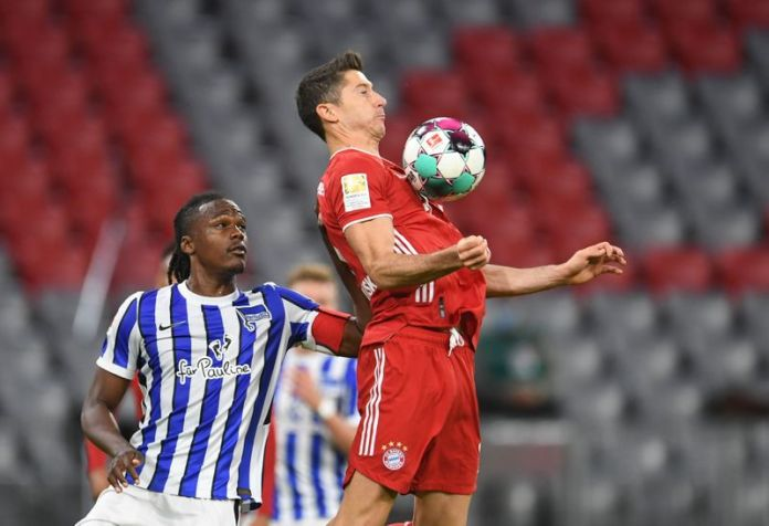 © Reuters. Bundesliga - Bayern Munich v Hertha BSC