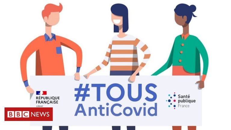 French Covid app relaunches to bumpy start