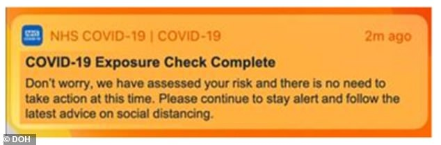 NHS Covid-19 contact-tracing app has been using the 'wrong risk threshold'