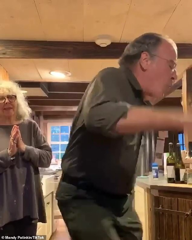 Homeland star Mandy Patinkin, 67, enthusiastically TWERKS out the vote in silly TikTok video