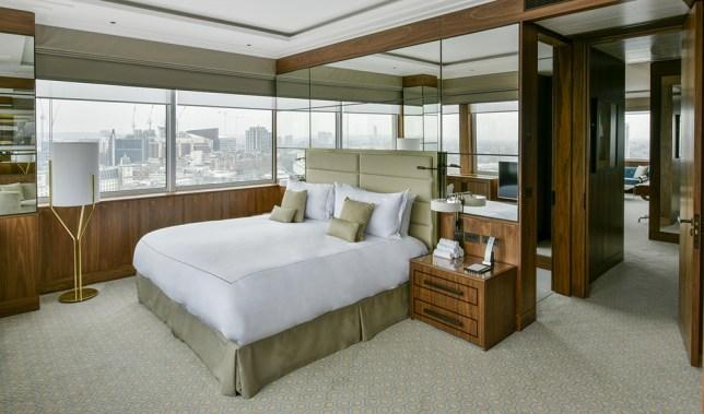 Royal Lancaster London suite