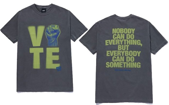 Huf encourages voting with latest collection