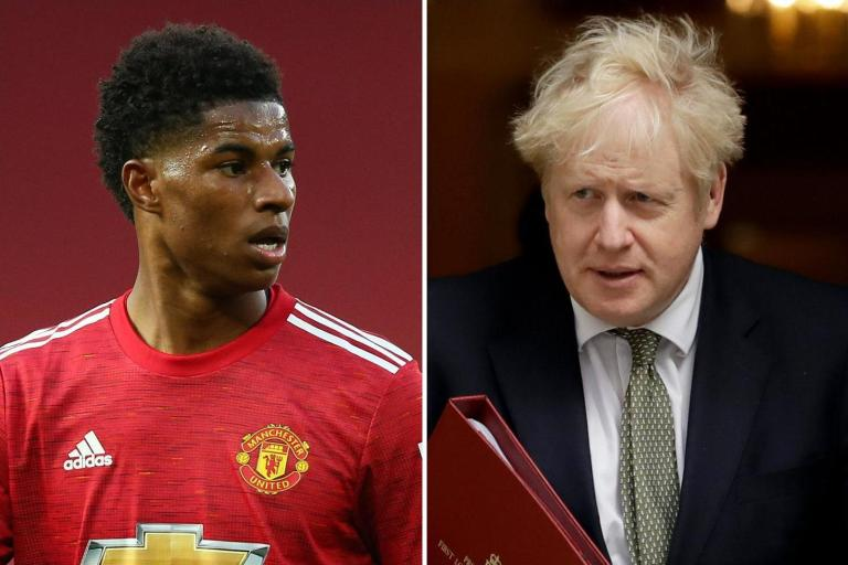 Boris Johnson hints government may move on Marcus Rashford's campaign before Christmas