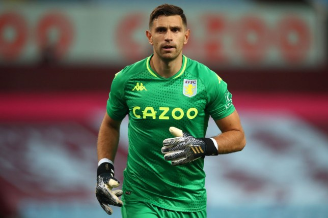 Emiliano Martinez joined Aston Villa this summer after 10 years as an Arsenal player