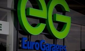 EG Garages sign