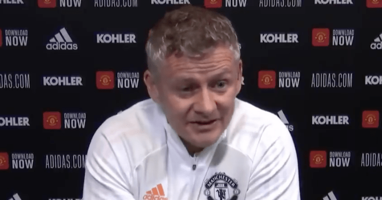 Ole Gunnar Solskjaer pinpoints factor behind Man Utd's slow start to season
