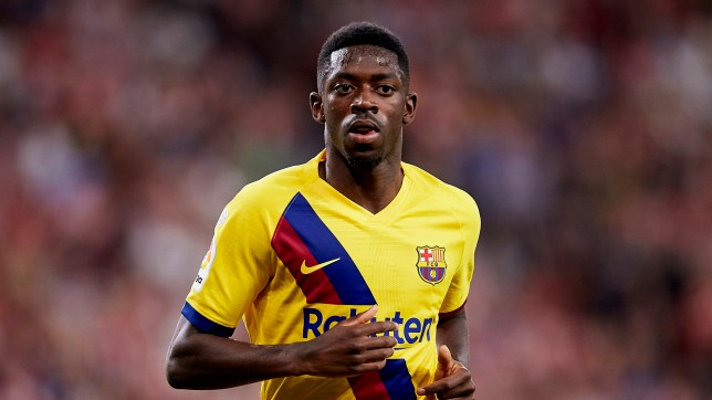 Barcelona winger Ousmane Dembele is reportedly sold on the idea of joining Manchester United