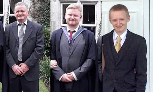 Pictured: Father, 59, and two sons shot to death in Irish 'murder-suicide'