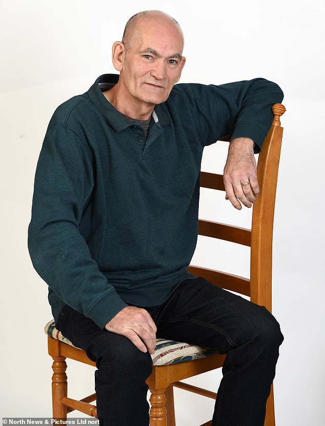 James Franklin, 60, from County Durham, was struggling to do everyday tasks