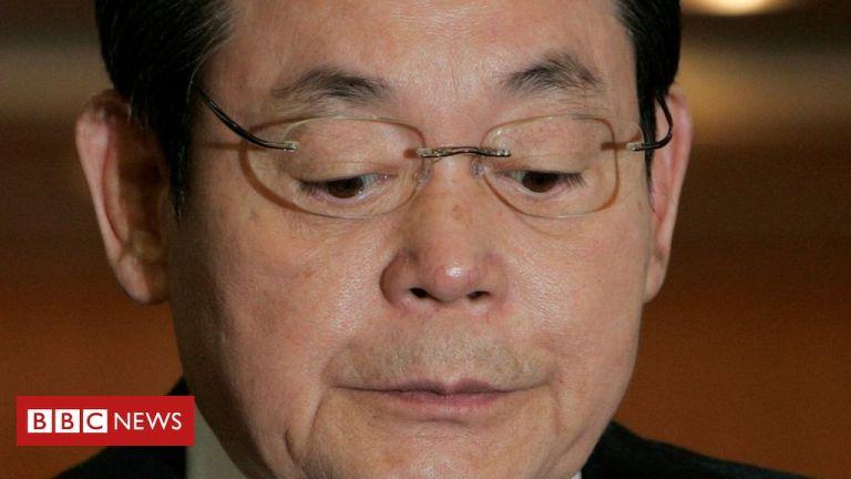 Samsung Group titan Lee Kun-hee dies aged 78