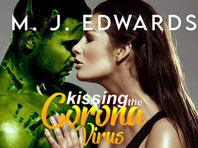 the cover of kissing the coronavirus