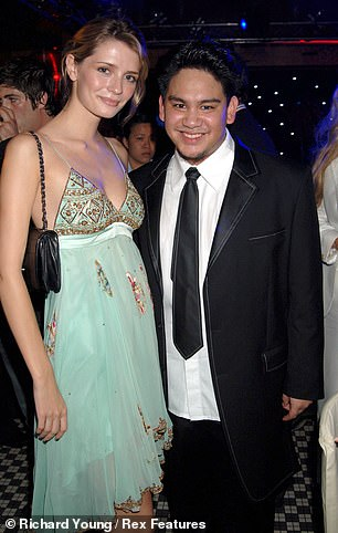 Prince Azim and Mischa Barton