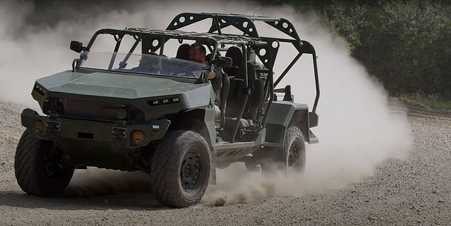 US Army unveils new Infantry Squad Vehicle based on Chevy pickup truck which trades armor for speed