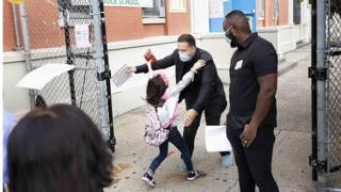New York schools reopen