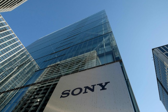 This general view shows the logo of Japan's Sony displayed at an entrance to the company's headquarters in Tokyo on January 23, 2019. - Sony will shift its European headquarters from Britain to the Netherlands to avoid Brexit-related customs issues, but operations at its current UK company will remain unchanged, a company spokesman said on January 23. (Photo by Kazuhiro NOGI / AFP)KAZUHIRO NOGI/AFP/Getty Images