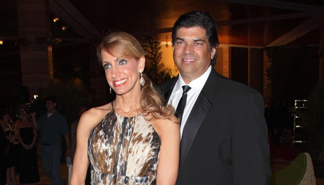 Lili Estefan and Lorenzo Luaces