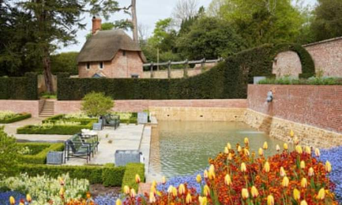 Victorian fragrance gardens at the Newt in Somerset.