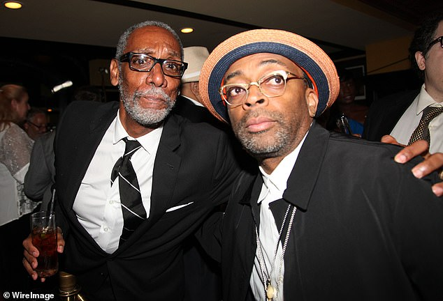 Spike Lee broke the news of Byrd's death in an Instagram post on Sunday. The pair are pictured together in August 2012 at the Longacre Theater in New York City