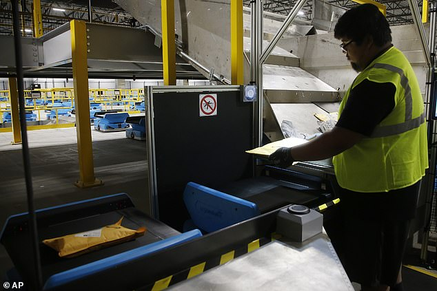 The overall rate of serious injuries at Amazon facilities is almost double the industry standard. But Amazon insisted that's only because it encourages workers 'with any type of injury' to say home until they've healed