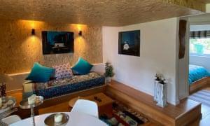 living room 'cave', Llyn Peninsula