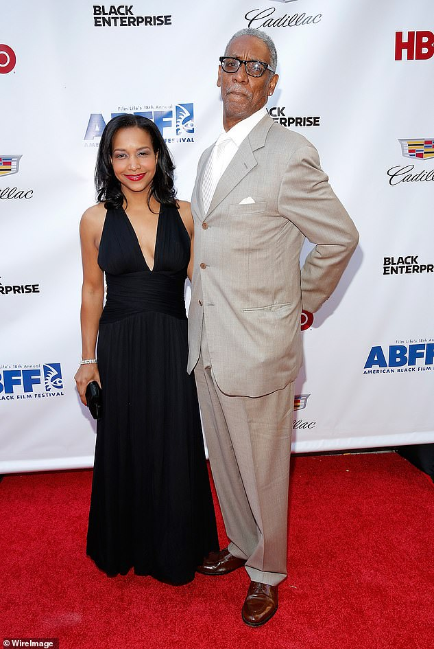 Byrd is seen on the red carpet during the world premiere of Da Sweet Blood Of Jesus during the 2014 American Black Film Festival in New York City