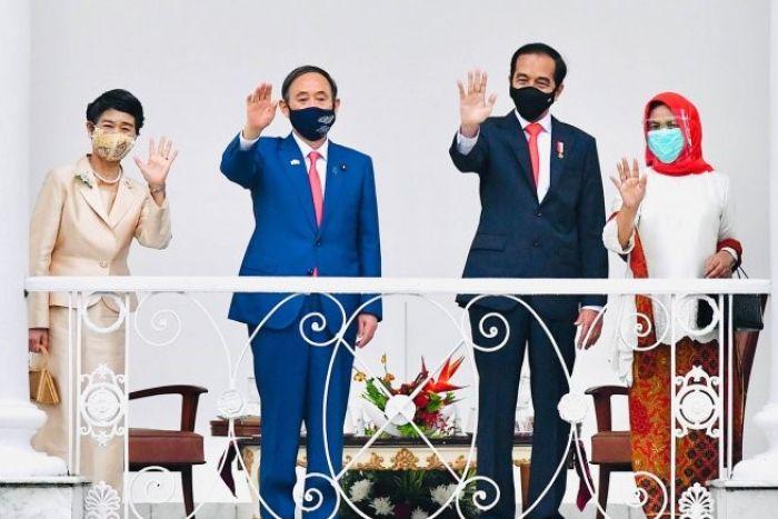 Jokowi dan Suga