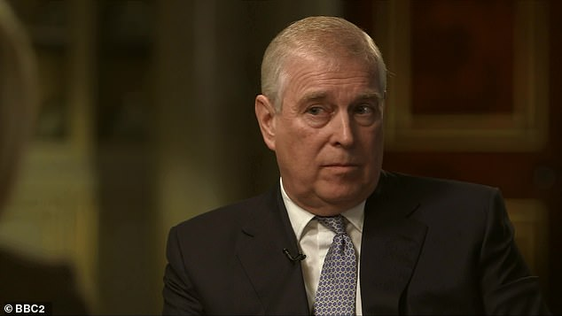 In an interview with the BBC's Emily Maitlis last year, Prince Andrew denied Giuffre's claims that they had sex in Maxwell's London townhouse in 2001