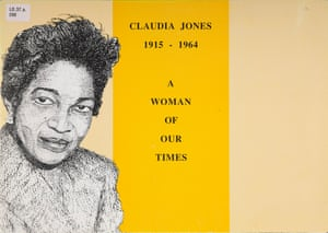 Inner tensions … a cover of a book about Claudia Jones, the Marxist feminist who launched black beauty pageants.