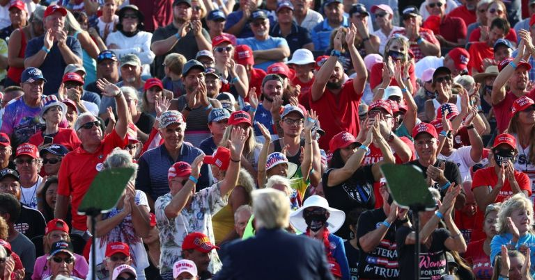 7 things we learned as Trump holds huge election rally with few masks on show