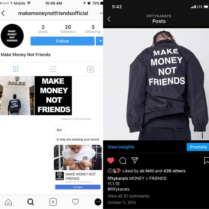 Udo Ihem, CEO of Fifty Karats, alleges rip off of his designs