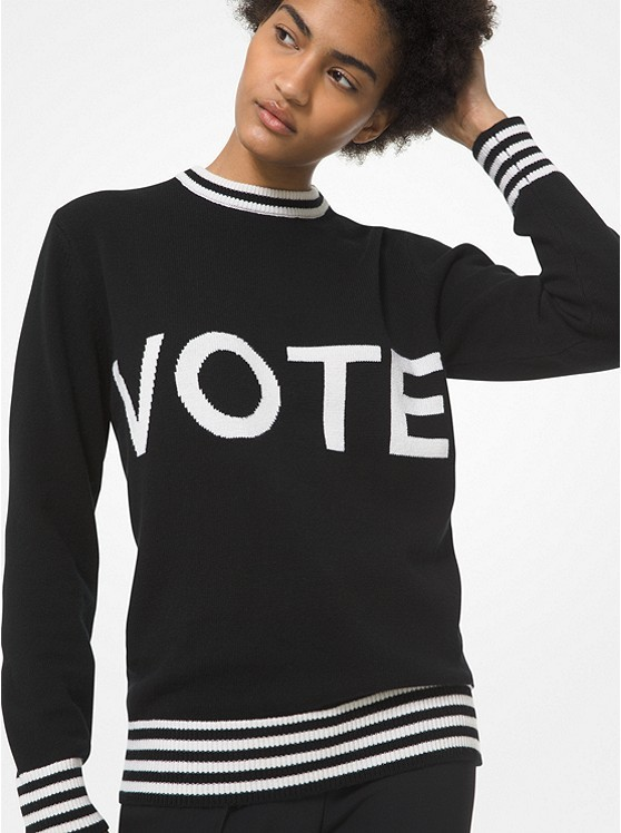 American fashion designers get political, urging people to vote