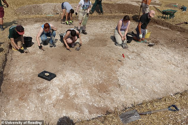 Further analysis of the human remains will be carried out by the archaeologists to help determine the man's age, health, diet and geographical origins