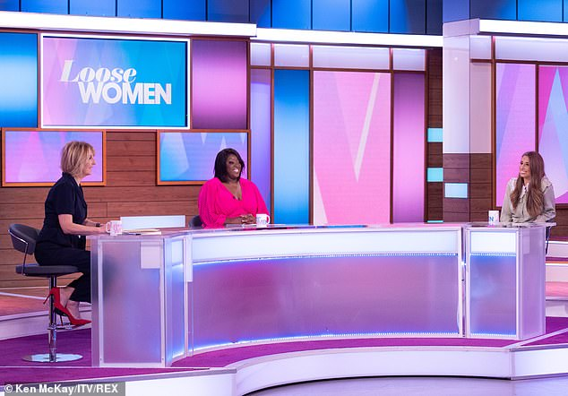 Rivals:It is thought that Loose Women pulls in a million viewers at the same time as Steph's show